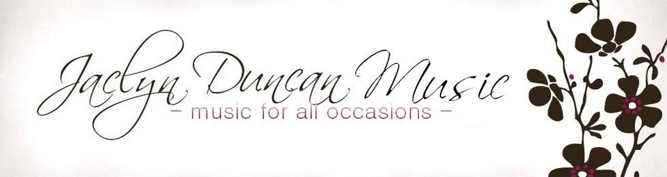 Jaclyn Duncan Music- Classical and Jazz Wedding Musicians in NJ, PA, DE, NY