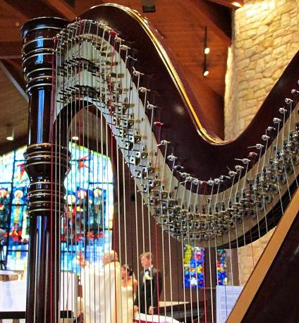 Harp at St. Ann's Catholic Church, Lawrenceville, NJ - Wedding Musicians